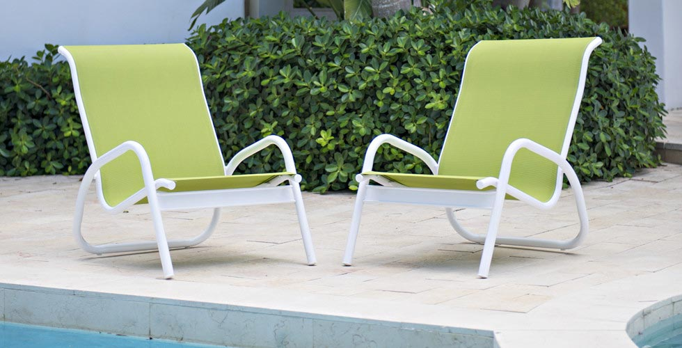 Aluminum Sling Chairs