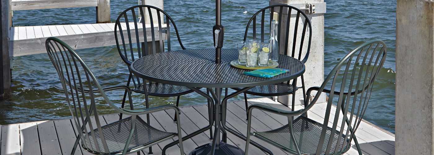 Wrought Iron Dining Set