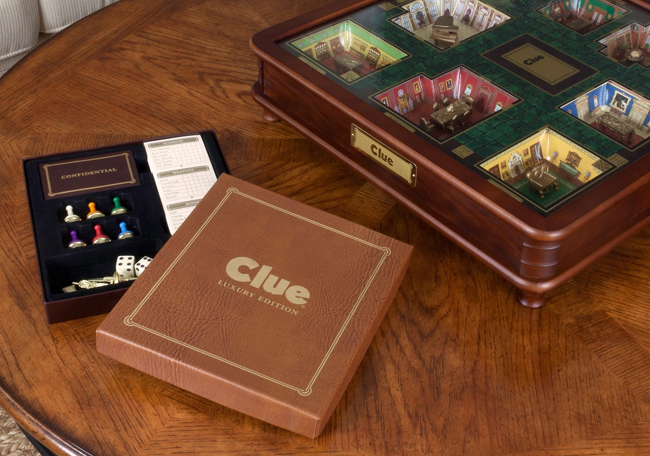 Luxury Edition Clue Board Game