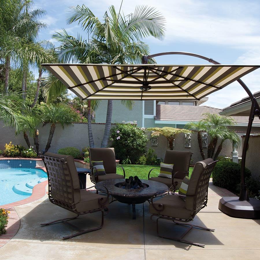 Treasure Garden Cantilever Umbrellas Seasonal Specialty