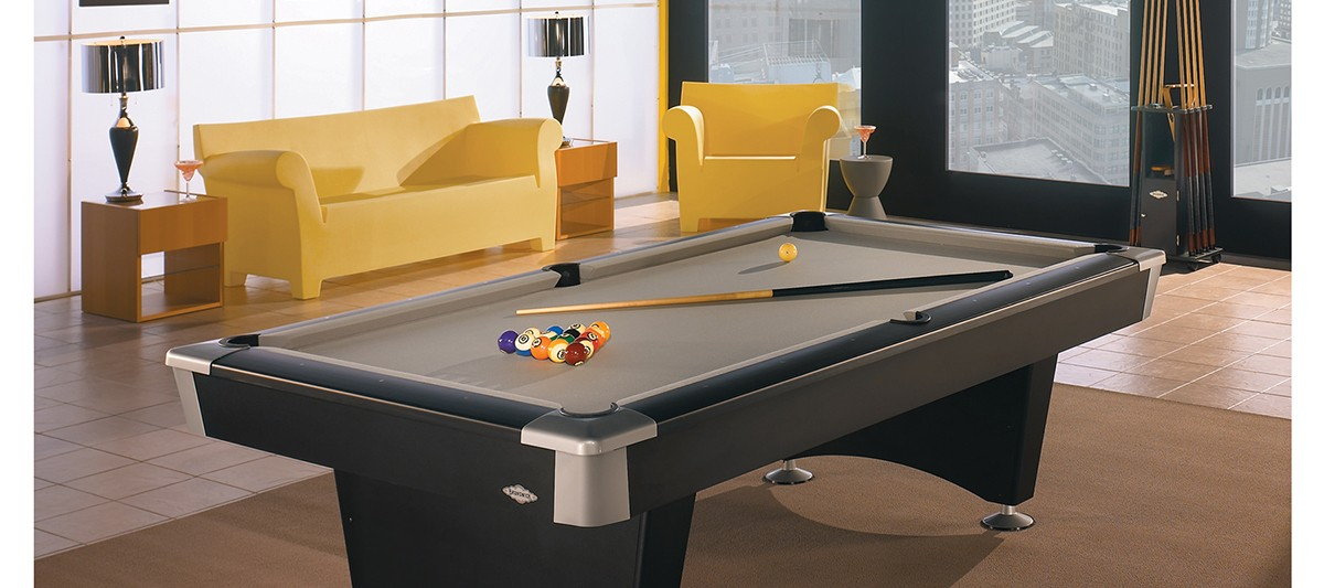 Black Wolf Seasonal Specialty Stores Foxboro Natick MA - Sleek pool table